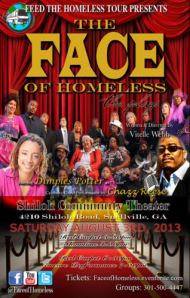 face of homeless